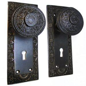 The Bridgeman U2013 Aged Bronze Passage Door Hardware Set