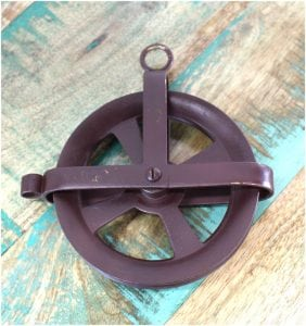 Counter Weight PULLEY for Hanging Light Fixtures Crafts Rope Wires Things