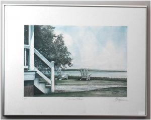 Barry Honowitz Summer Place Framed Signed Artist Proof Print