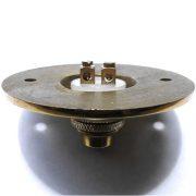 PRESS Solid Brass Old Antique Style Round Retro Door Bell Push Button w Bronze Finish