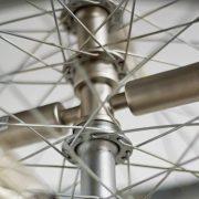 Bicycle Wheel Three Tier Chandelier for Bikers & Bike Club Enthusiasts
