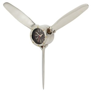 Air Plane Old Style Propeller Wall Clock The Aviator