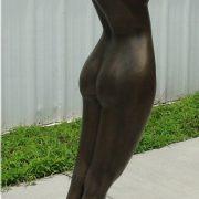 Standing Nude Female Statue Sculpture artwork, stunning sexy woman Art