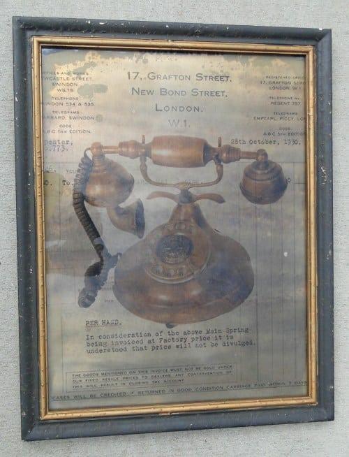 Artwork Framed Antique Telephone Wooden Frame Wholesale Discount Old ...