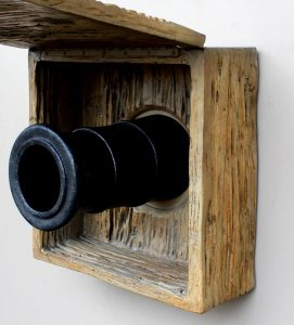 Tall English or Pirate Ship Wall Cannon w Faux Wood Cover – The Kings Bay