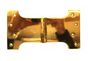Parliament Solid Brass Hinge Large Hardware Door or Shutters 6.25″ Overall