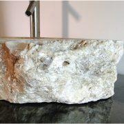 Freeform Onyx Gemstone Basin Vessel Sink Bathroom Counter Semi Precious Top z5d