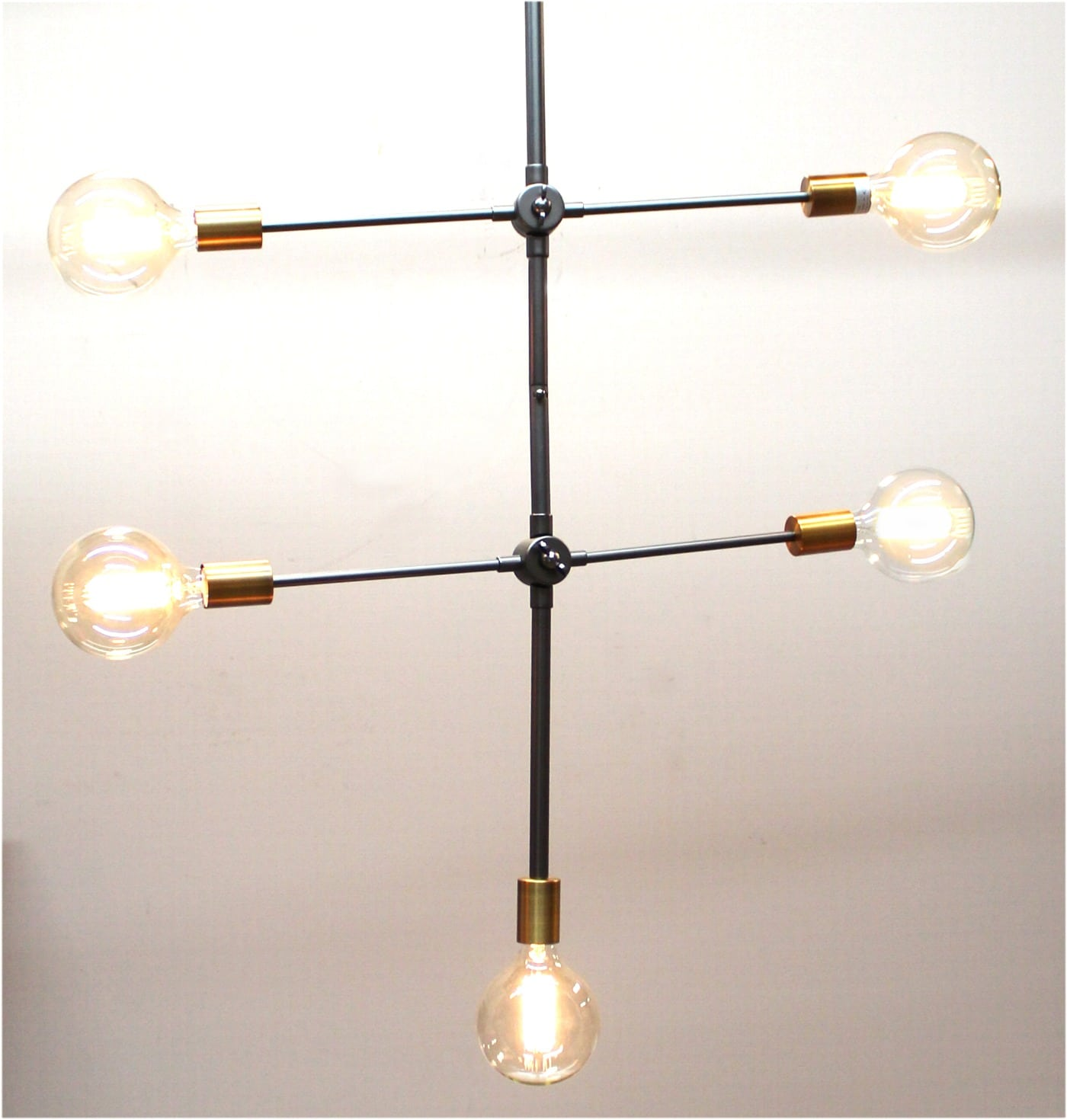 Preferred Contemporary Pendant Light 5 Arms Chandelier Mid Century Modern  KF65