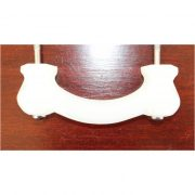 Antique WHITE Milk Glass Pull for Cabinet Hardware Dressers Knob 3″ Centers 25 pcs