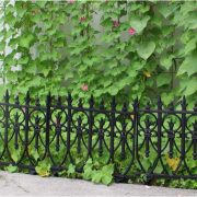 Victorian Garden Fence Heavy Antique Style Old English Lawn Edging Aluminum