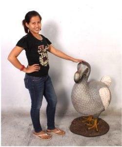3′ Tall Life Size Dodo Bird Statue Sculpture Museum Home Goods Decor