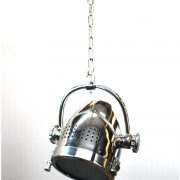 Ceiling Mounted Movie Cone Spotlight Adjustable Direction Silver Finish Spot Lights