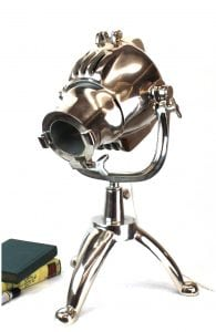 Hollywood Movie Studio Magnified Lense Spot Light Table Desk Lamp Fixture Lens