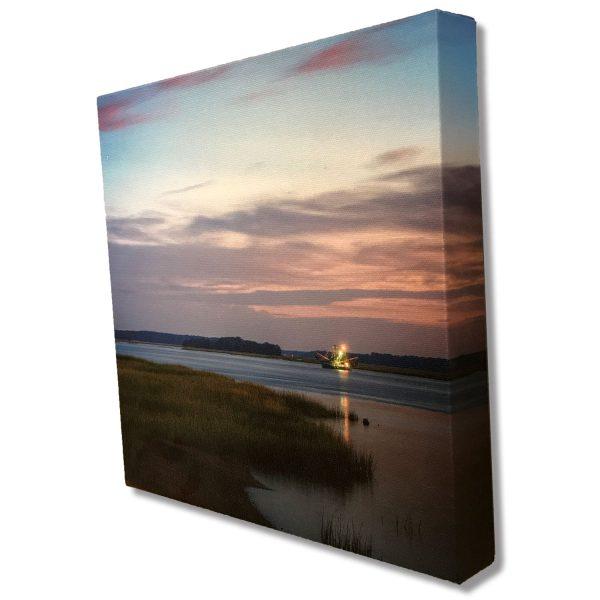 Shrimp Boat Hilton Head SC Limited Edition Landscape Canvas Print Artist Signed