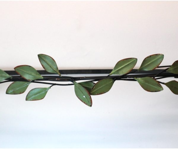 Teester Curtain Window Covering Hardware Natural Green Leaves