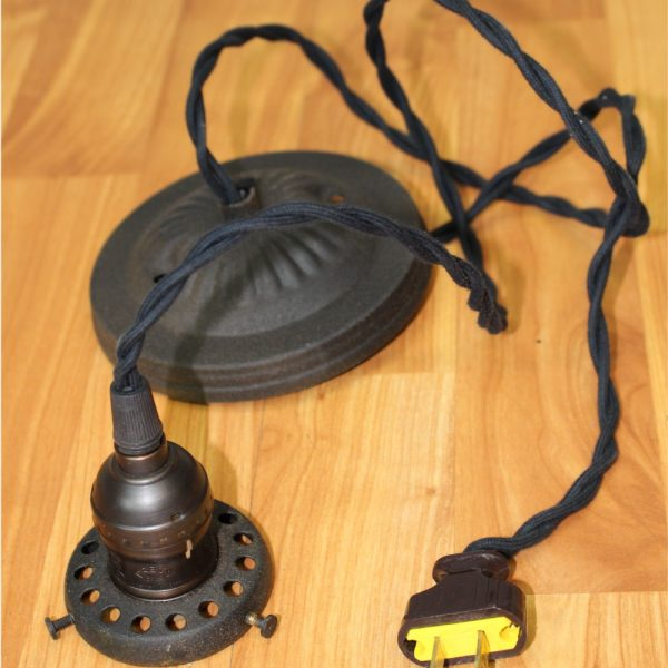 Wiring and Cord for 2 1/4″ Fitter Size Pendant Light Fixture