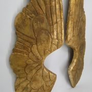GIANT Gold ANGEL WINGS PR HUGE Holiday Christmas, Cresh Altar Art