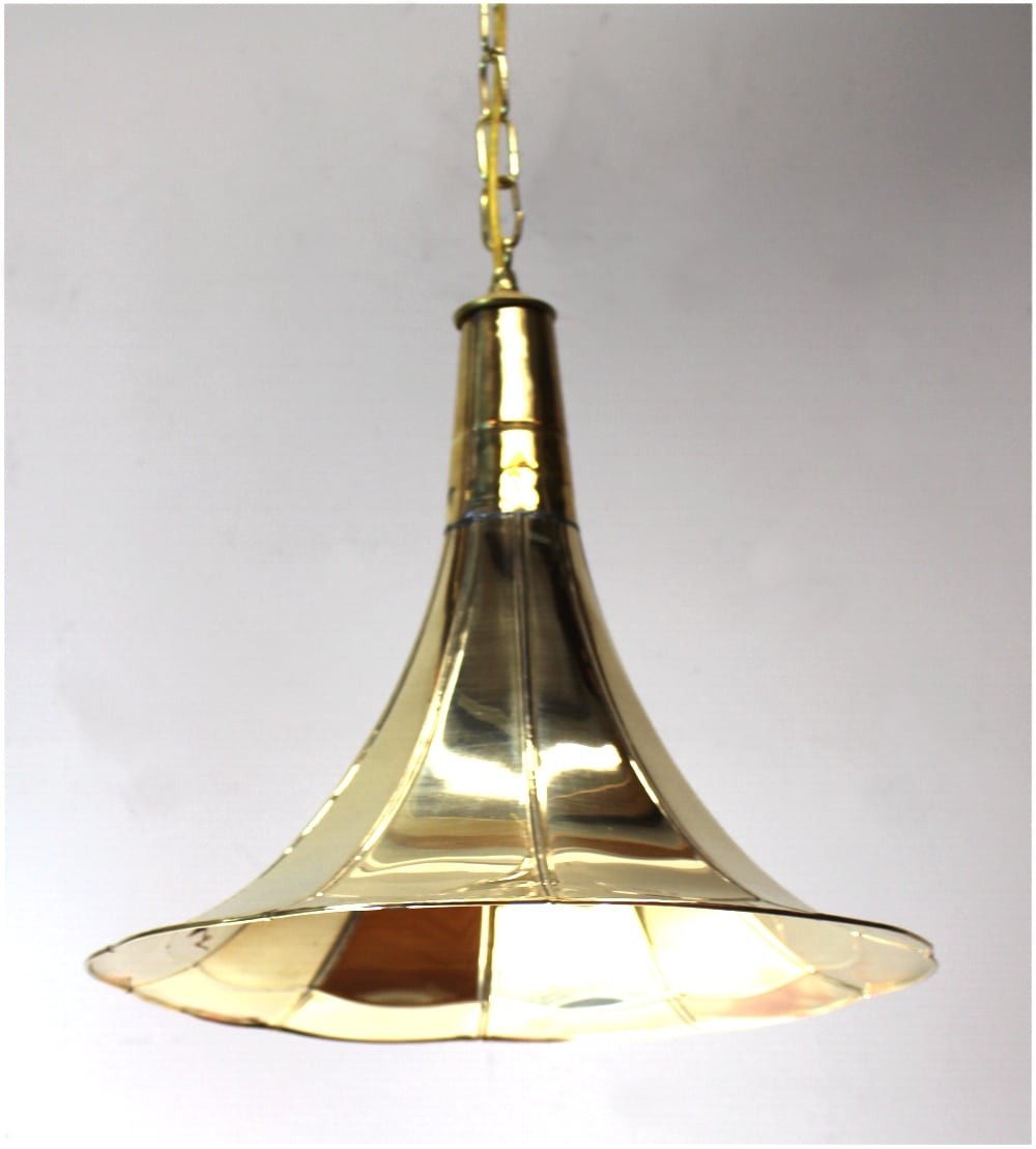 Old Fashioned Antique Replica Gramaphone Gramophone Pendant Light Fixture The Kings Bay