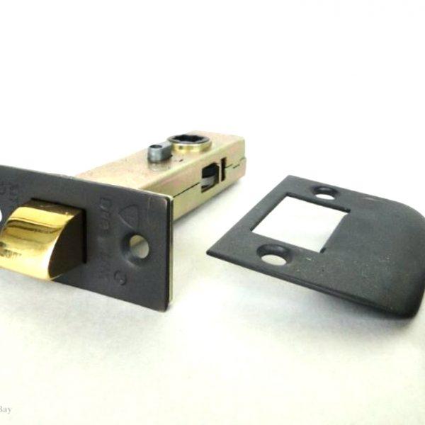 Darkened Bronze Latch Set for Door Hardware 2 3/4″ Back Set