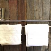 Chrome Train Rack Bathroom Shelf & Towel Rail Antique Replica – The Kings Bay