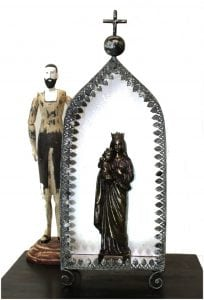 Greek Orthodox Catholic Christian Vintage Altar or Grotto of the Lord Antique Replica