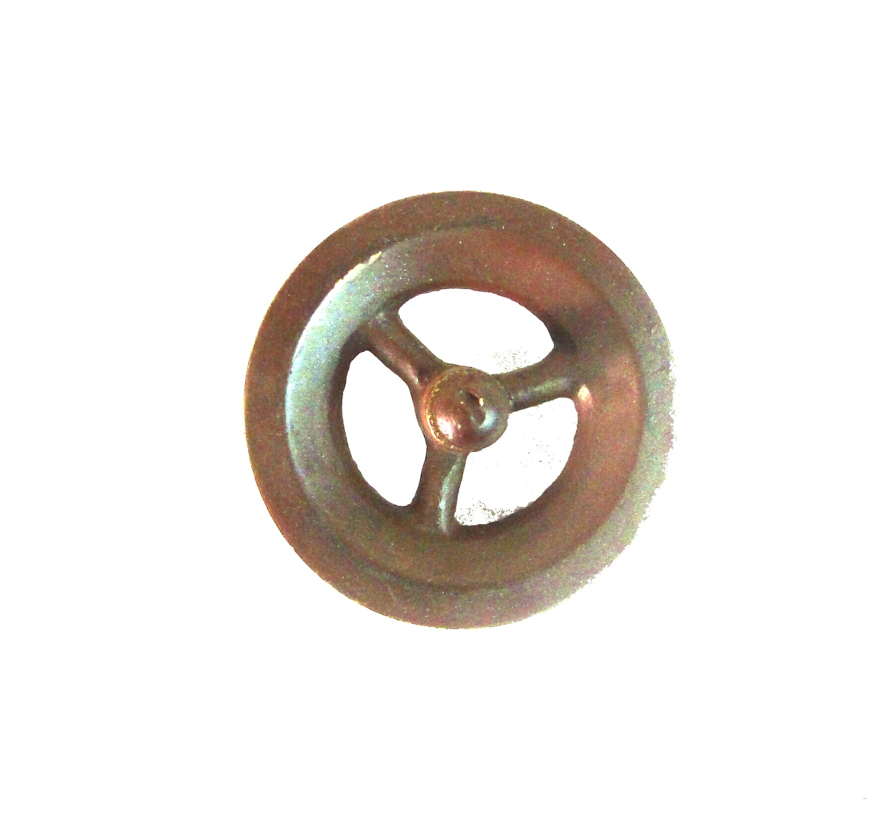 Small bronze pulleys pair of painted solid brass for lamp parts small bronze pulleys pair of painted solid brass for lamp parts crafts aloadofball Choice Image