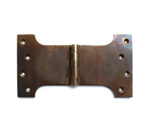 Parliament Solid Brass Hinge Tarnished Aged Bronzed Large Hardware