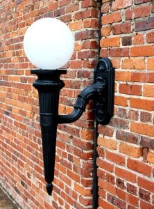 Big Victorian Outdoor Garden Architectural Wall Sconce Lighting Light Fixture Lamp