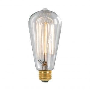 Squirrel Cage Tip Thomas Edison Light Bulbs 6PCS Antique 30W Bulbs