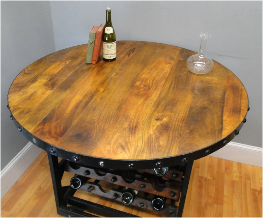 with hardware sofa studded home table textiles wine and rack