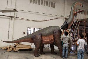 Brontosaurus Life Size Dinosaur Lifesize Statue HUGE ADVERTISE YOUR Business