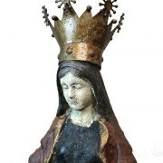 Stunning Christian Statue Virgin Mary Mary with Removable Gold Crown Very Lovely