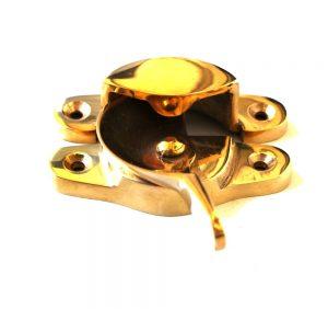 Brass Window Sash Lock Fastener with Smooth Finish Stunning