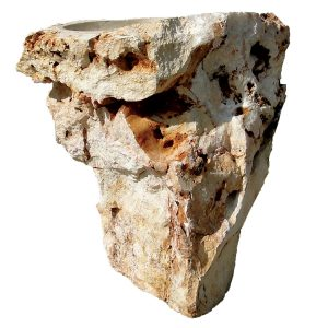 Stone Pedestal Sink Free Form Onyx Quartz Semi Precious Stone The Kings Bay