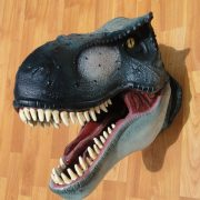 Wall Mounted T Rex Trophy Head Jurassic Park Terra Nova Display