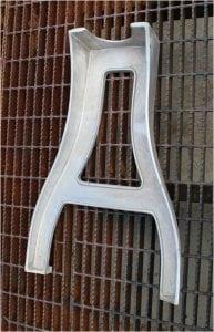 Industrial Factory Furniture Maker Table Leg, Antique Old Vintage Replica