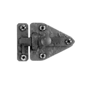 Wrought Iron Arrowhead Shaped Cabinet Latch Flush Hardware 2-5/32″ x 3-7/16″