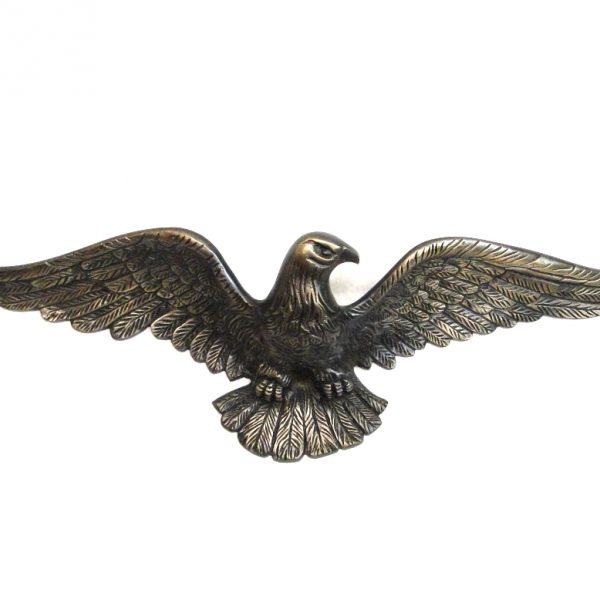 Solid Brass Eagle Sculpture Bronze Finish Above Door Home American HEAVY