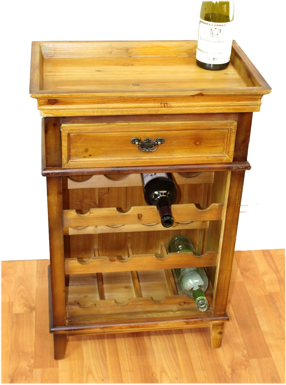 wine top furniture rack home bar interior table southbaynorton