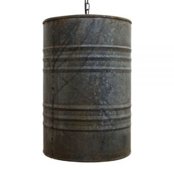 Industrial Drum Can Hanging Pendant Light