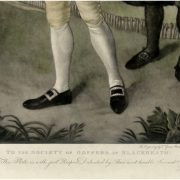 Antique Gen Mezzotint Society of Golfers At Blackhearth Abbott – The Kings Bay