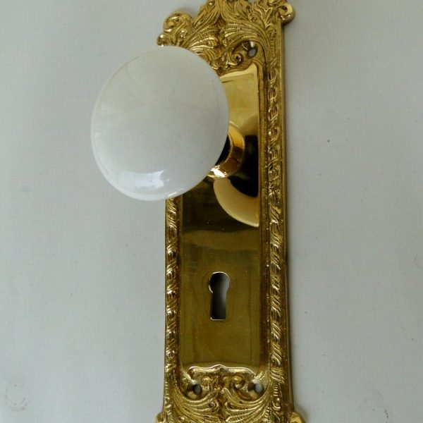 antique door knobs reproduction. victorian reproduction door hardware passage set white porcelain knobs antique .