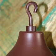 Hook Lamp Part Weight with Pulley For Light Making or Custom Fixtures Antique Old Style
