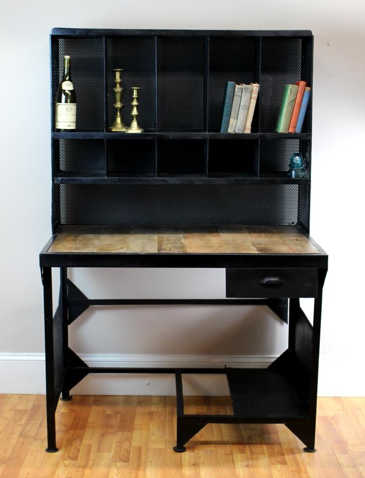 Very best Antique Replica Industrial Factory Post Office Desk Furniture  BS73