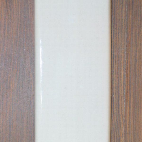 White Ceramic Push Plate Porcelain Vintage or Modern Style Commercial Hardware