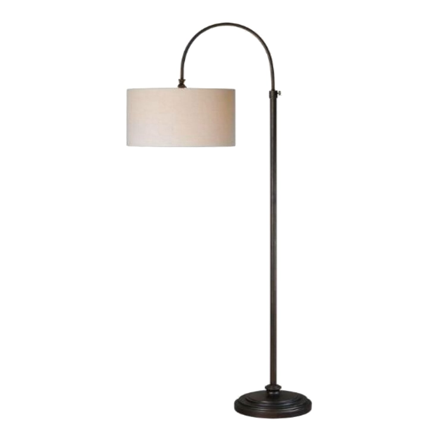 comfortable chrome light your lamp base metro and arching stand floor arc floors bronze pretty sophia home decor rubbed lighting extraordinary small round shaded for ikea lamps oil