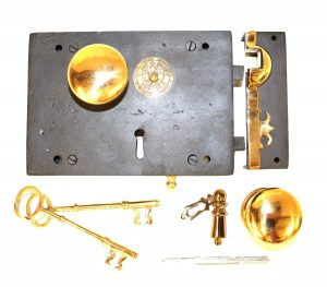 """Commercial Cast Iron Door Pull in Thick High End Design Entry Hardware 15.75/"""""""