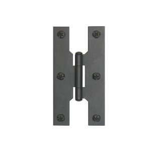 Smooth Iron – 4″H Hinge Flush Smooth Iron Interior and Exterior Doors Wrought