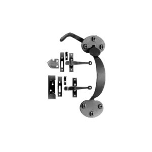 Bean Shaped Colonial Thumb Latch or Rim for Interior and Light Exterior Doors