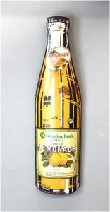 Lemonade Wall Mounted Vintage Style Soda Sign Metal Great for Home Goods Kitchen